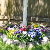 Sunny Tree Roll Out Flower Mat